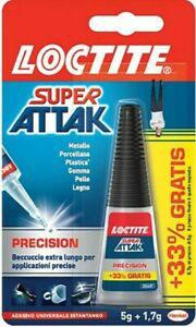 Tubetto  5 gr + 1,7 gr colla  SUPER ATTAK ORIGINAL