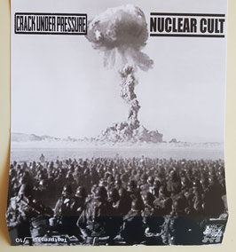 NUCLEAR CULT / CRACK UNDER PRESSURE   TESTPRESS                                     LP