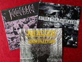 SLUDGE  INDUSTRIAL   METAL PUNK   BUNDLE                                                                 3x LP
