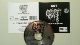 Gut ‎– Odour Of Torture           ORIGINAL  RSR  PROMO  CD