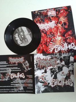 "Regurgitate/Skullhog -7"" - limited version!"