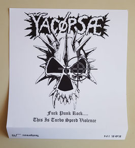 YACOPSAE  FUCK PUNK ROCK                                   TESTPRESS               LP