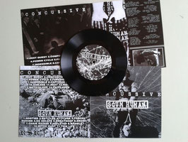 "Concussive/Scum Human - split 7"" - regular version"