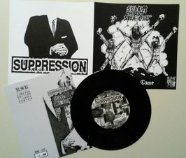 "SUPPRESSION / SEDEM MINUT STRACHU                  SPL 7""                       lim 50 version"