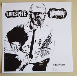 LIFESPITE / HOSTAGE                                  TESTPRESS                                     LP