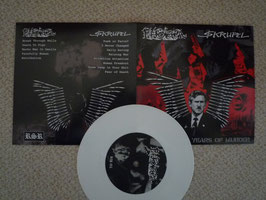 "$krupel/Phobia ""Another 4 years of murder"" - 7"" (white limited vinyl)"