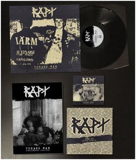 "RAPT  "" THRASH WAR/DISCOGRAPHY  ""                           LP+7"" + CD"