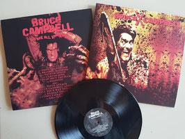 "BRUCExCAMPBELL   "" WE ARE KAMIKAZE  ""                       REGULAR   LP"