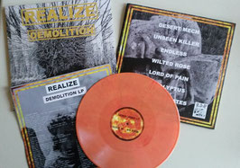 "REALIZE  "" DEMO ""                                 LP                                                        LIM.VERSION"
