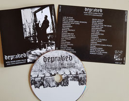 """DEPRAVED   """" WITH DEATH COMES PEACE  2016-2019 DISCOGRAPHY  """"                                   CD"""