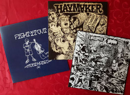 VIOLENT HARDCORE   BUNDLE                                                                     3x  LP
