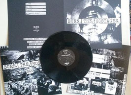 BURN THE HOSTAGES   DEMO LP                       LIM 50