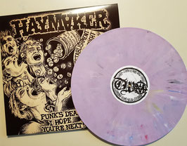 "HAYMAKER  "" PUNKS DEAD...""                         LP                                               REGULAR"