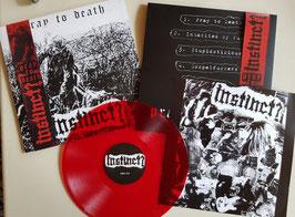 """INSTINCT?    """" PRAY TO DEATH """"                     PRE-ORDER             LIM.VERSION               LP"""