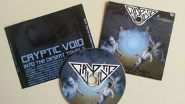 Cryptic Void - Into the desert temple   CD