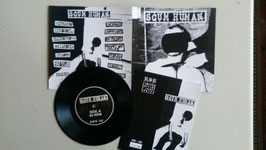 "Scum Human - same - 7"" - limited to 100 version - Preorder now!"
