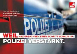 """Schaukastenplakat """"Polizei"""""""