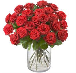 Rote Rosen (24 Rosen)