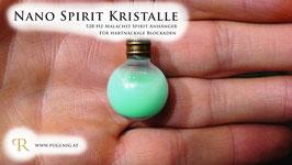 Malachit Spirit Kristalle - Anhänger Kugel - 528 Hz