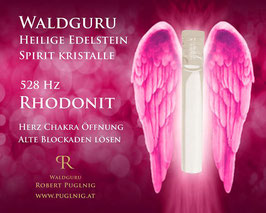 Rhodonit Spirit Kristalle - in 1,5 ml Phiole - 528 Hz