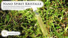 Pyritsonnen Ferrum Spirit Kristalle - in 1,5 ml Phiole - 396 Hz