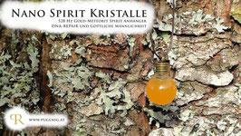Gold Meteorit Spirit Kristalle - Anhänger Kugel - 528 Hz