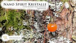 Gold Spirit Kristalle - Anhänger Kugel - 147 Hz