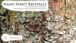Gold Spirit Kristalle - Anhänger Kugel - 936 Hz