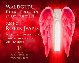 Roter Jaspis Spirit Kristalle - in 1,5 ml Phiole - 528 Hz