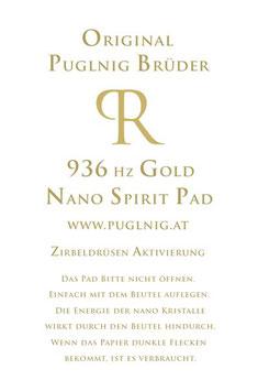 SPIRIT PAD SET - 936 Hz Zirbeldrüsen Gold + 10 PADs