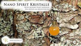 Meteorit Spirit Kristalle - Anhänger Kugel - 528 Hz