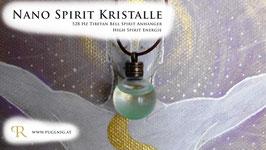 Tibetan Bell Spirit Kristalle - Anhänger Kugel - 528 Hz