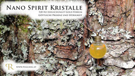 Edelschungit Gold Ferrum Spirit Kristalle - Anhänger Kugel - 528 Hz