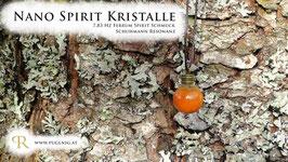 Gold Spirit Kristalle - Anhänger Kugel - 7,83 Hz Schumann Resonanz