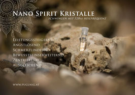 Nano Gold Spirit Kristalle - in 1,5 ml Phiole - 210,42 Hz Mondton