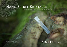 7 Chakren - Zinkit Spirit Kristalle - in 1,5 ml Phiole + 528 Hz