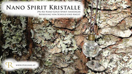Gold Spirit Kristalle - Anhänger Kugel - 396 Hz