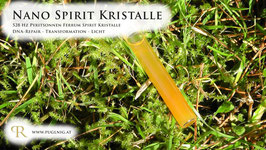 Pyritsonnen Ferrum Spirit Kristalle - in 1,5 ml Phiole - 528 Hz