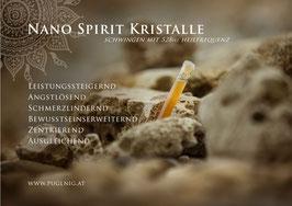 Ferrum Spirit Kristalle - in 1,5 ml Phiole - 912 Hz Wurzel Chakra