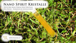 Pyritsonnen Ferrum Spirit Kristalle - in 1,5 ml Phiole - 639 Hz