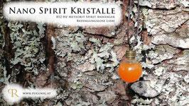 Meteorit Spirit Kristalle - Anhänger Kugel - 825 Hz