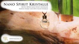 IBOGA Gold Spirit Kristalle - Anhänger Kugel - 528 Hz
