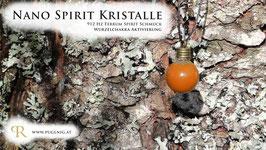 Ferrum Spirit Kristalle - Anhänger Kugel - 912 Hz Wurzel Chakra