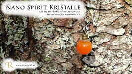 Eisen Meteorit Spirit Kristalle - Anhänger Kugel - 639 Hz