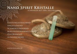 Malachit Spirit Kristalle - in 1,5 ml Phiole - 528 Hz