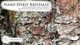 Gold Spirit Kristalle - Anhänger Kugel - 528 Hz