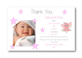 Baby Announcement cards TY8