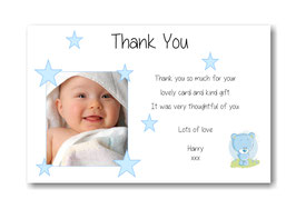 Baby Announcement cards TY6