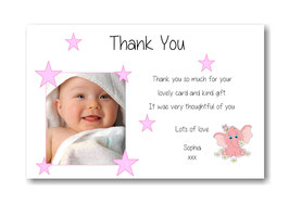 Baby Announcement cards TY5