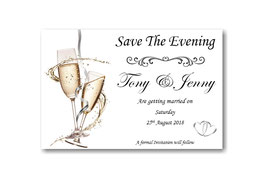 Save the Evening Cards Ref SE2